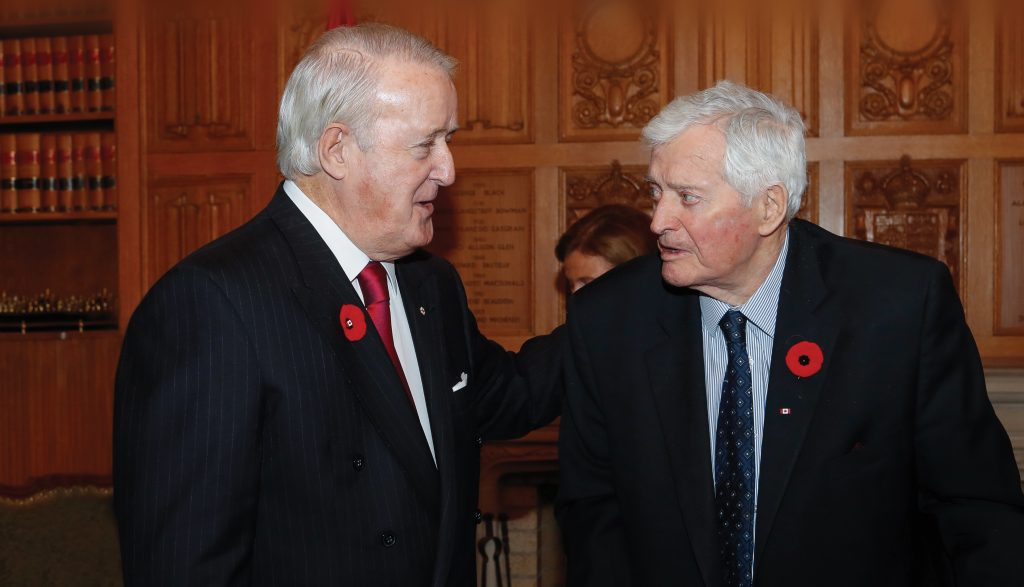 A Fond Farewell: Brian Mulroney on John Turner